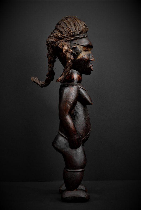 Statue Féminine Dan, Côte d'Ivoire