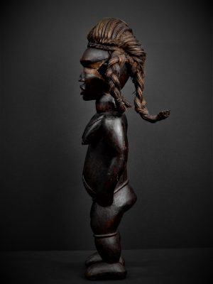 dan statue profil gauche