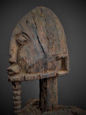 dogon statue 1er plan 3quarts gauche