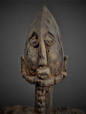 dogon statue 1er plan face