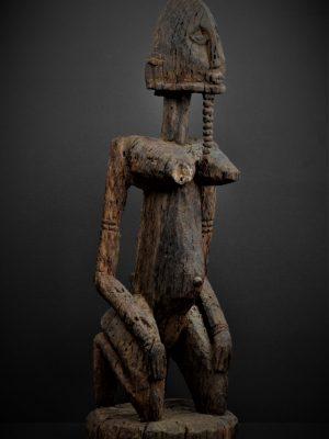 dogon statue 3quarts droite