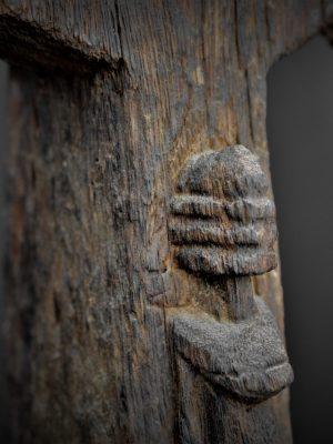 dogon statue detail enfant