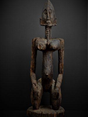 dogon statue face