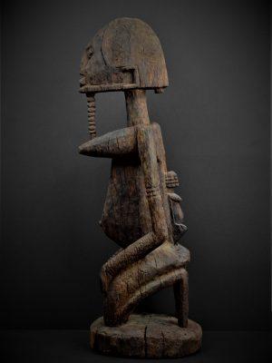 dogon statue profil gauche