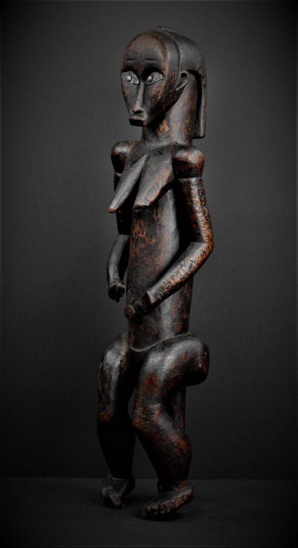 Statue Féminine, Figure d'Ancêtre du Byeri, Fang, Groupe Ntumu, Gabon