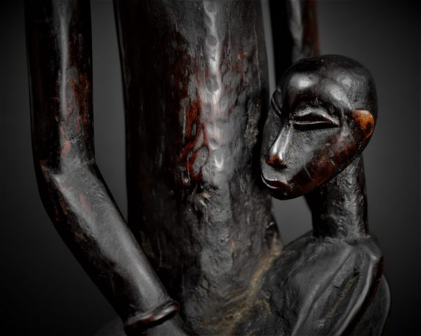 Statue Féminine, Maternité, Katielo, Senoufo, Côte d'Ivoire