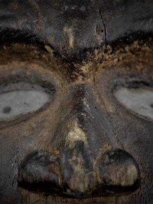 Nkisi Nkonde Kongo Vili détail visage