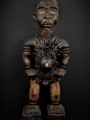 Nkisi Nkonde Kongo Vili face