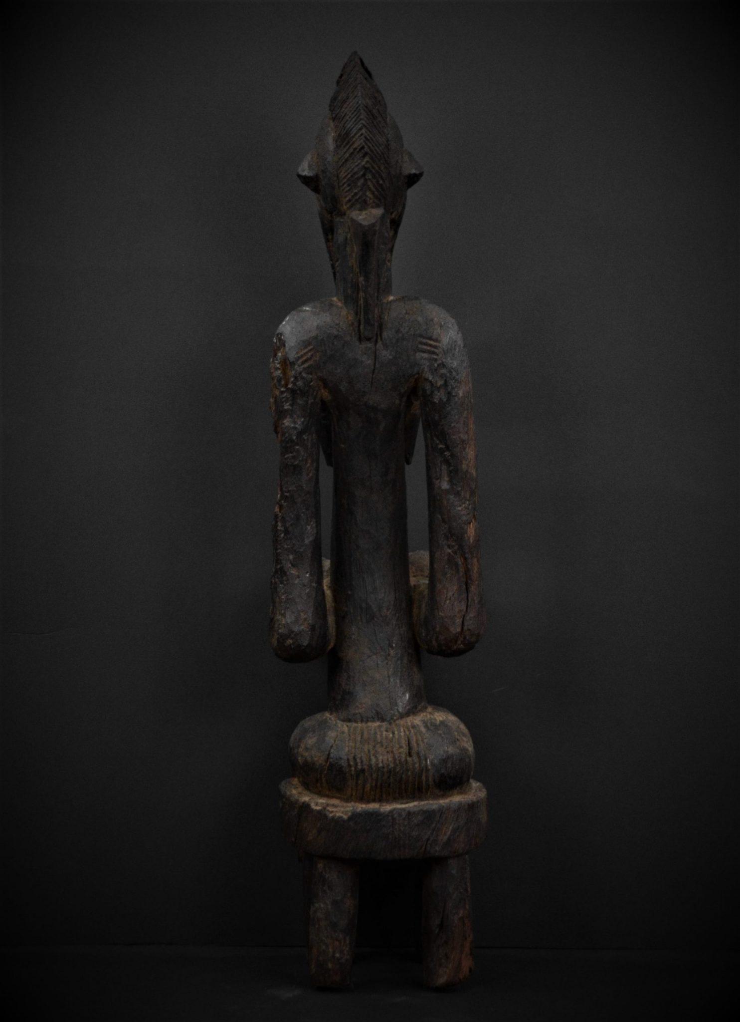 Statue Féminine Sénoufo dos