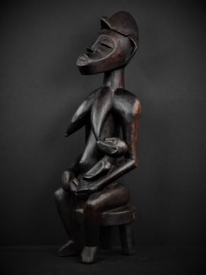 Statue Maternité Senoufo 3quarts gauche