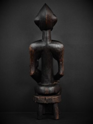 Statue Maternité Senoufo arrière