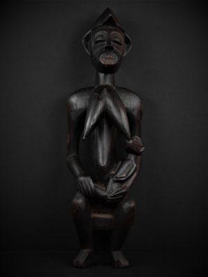 Statue Maternité Senoufo face