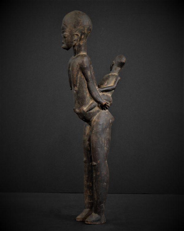Lobi Femme à l'enfant, Burkina Faso