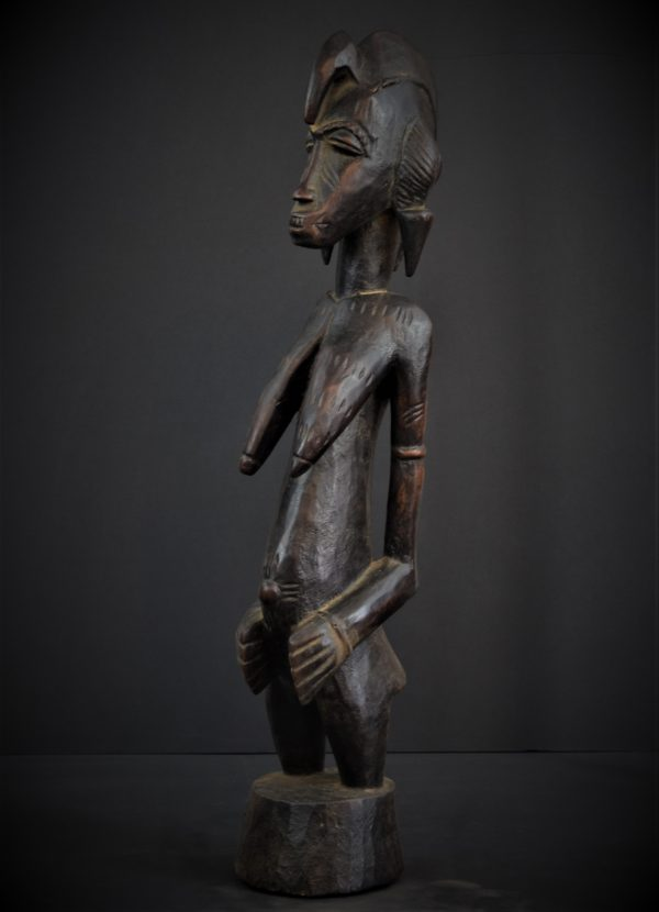 Statue Féminine Senoufo, Côte d'Ivôire