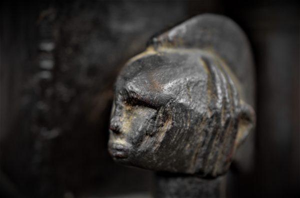 Statue Bamana, mère avec enfant, Mali
