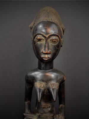 Statue Maternité Baoulé 10