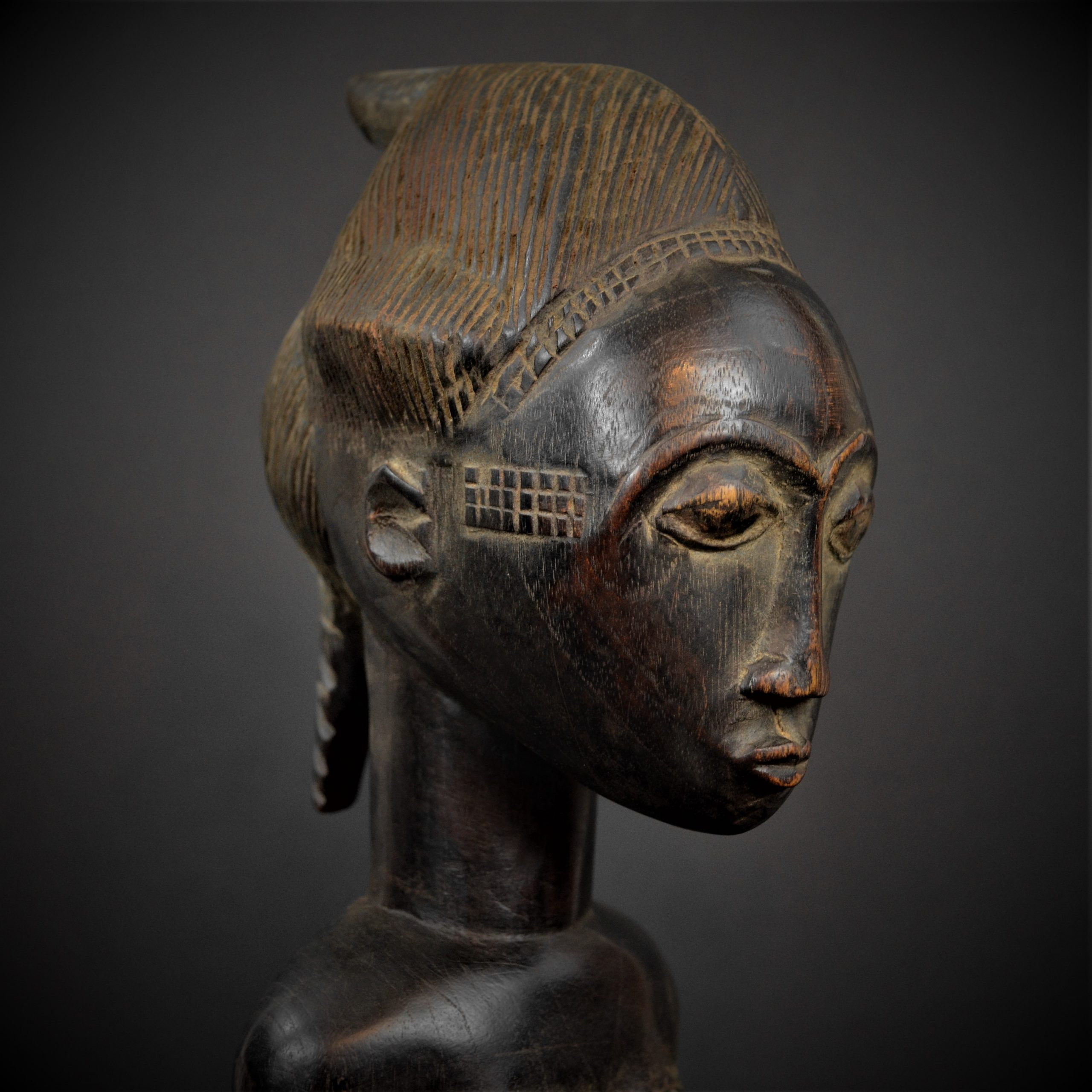 Statue Maternité Baoulé 12 cov