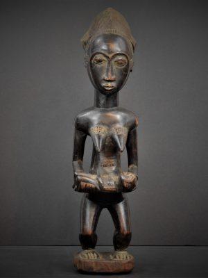 Statue Maternité Baoulé 19