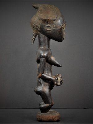 Statue Maternité Baoulé 21