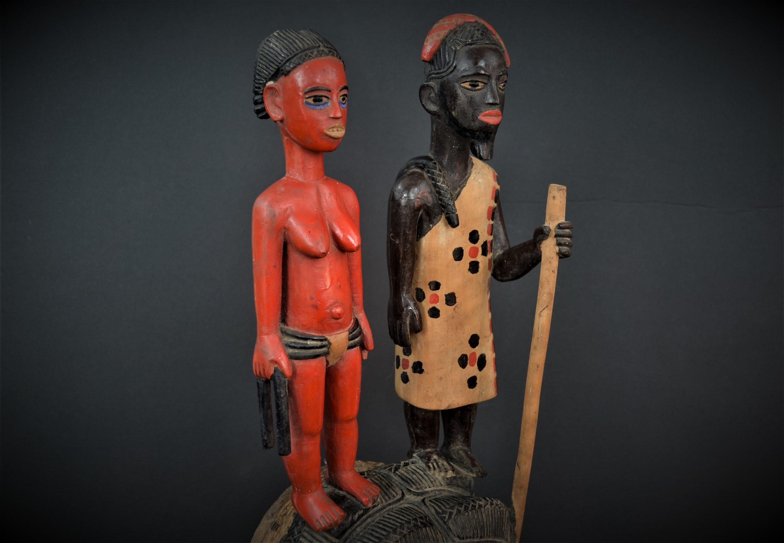 Gouro, Maître des Niono, Masque Gou Ripolin Rouge, Côte d'Ivoire 10