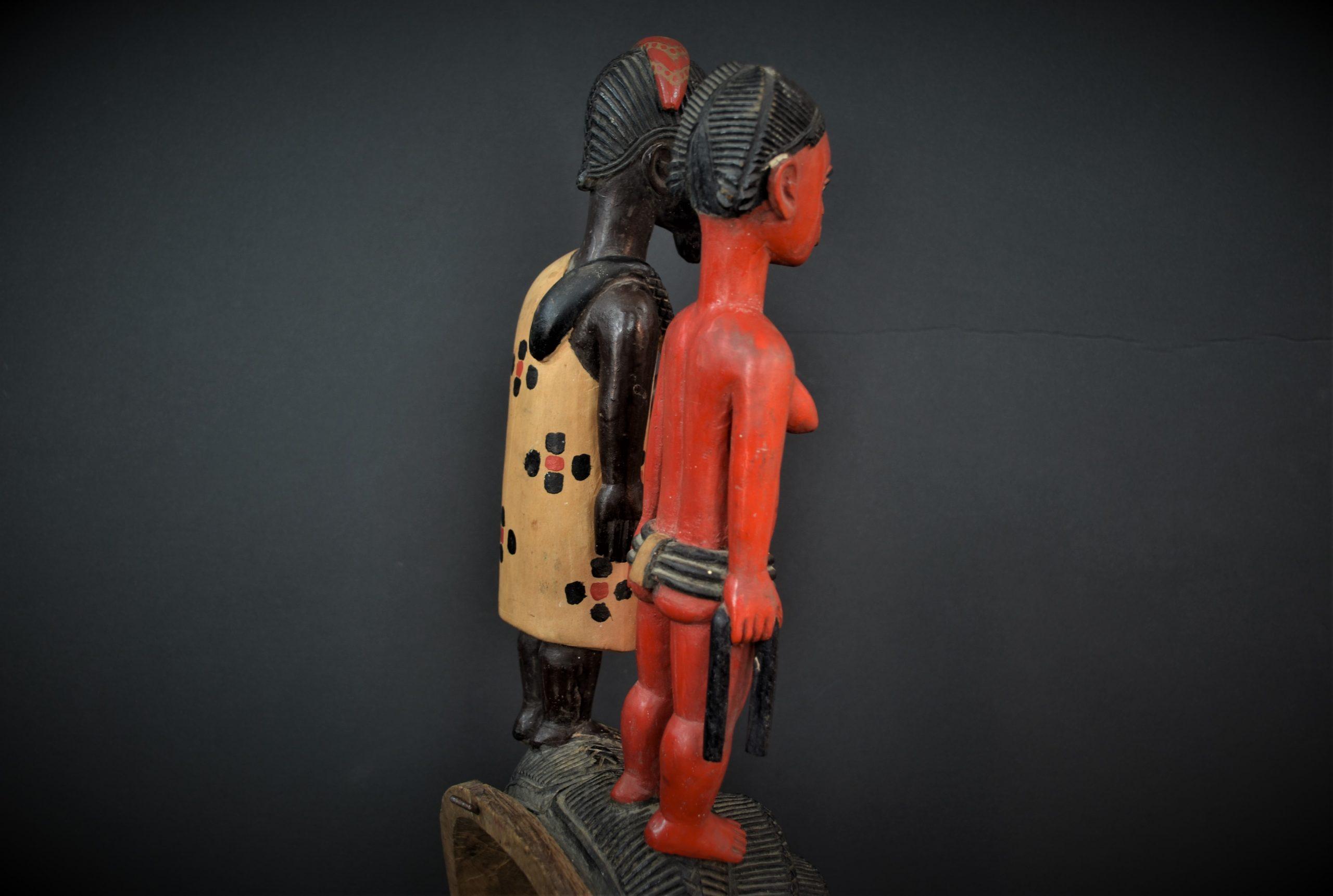Gouro, Maître des Niono, Masque Gou Ripolin Rouge, Côte d'Ivoire 12