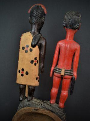 Gouro, Maître des Niono, Masque Gou Ripolin Rouge, Côte d'Ivoire 13