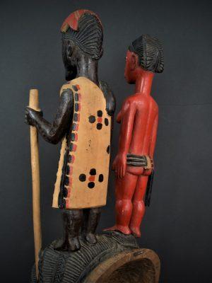 Gouro, Maître des Niono, Masque Gou Ripolin Rouge, Côte d'Ivoire 14