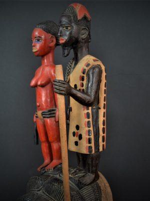 Gouro, Maître des Niono, Masque Gou Ripolin Rouge, Côte d'Ivoire 16