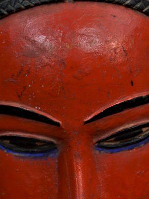Gouro, Maître des Niono, Masque Gou Ripolin Rouge, Côte d'Ivoire 17