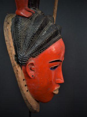 Gouro, Maître des Niono, Masque Gou Ripolin Rouge, Côte d'Ivoire 20