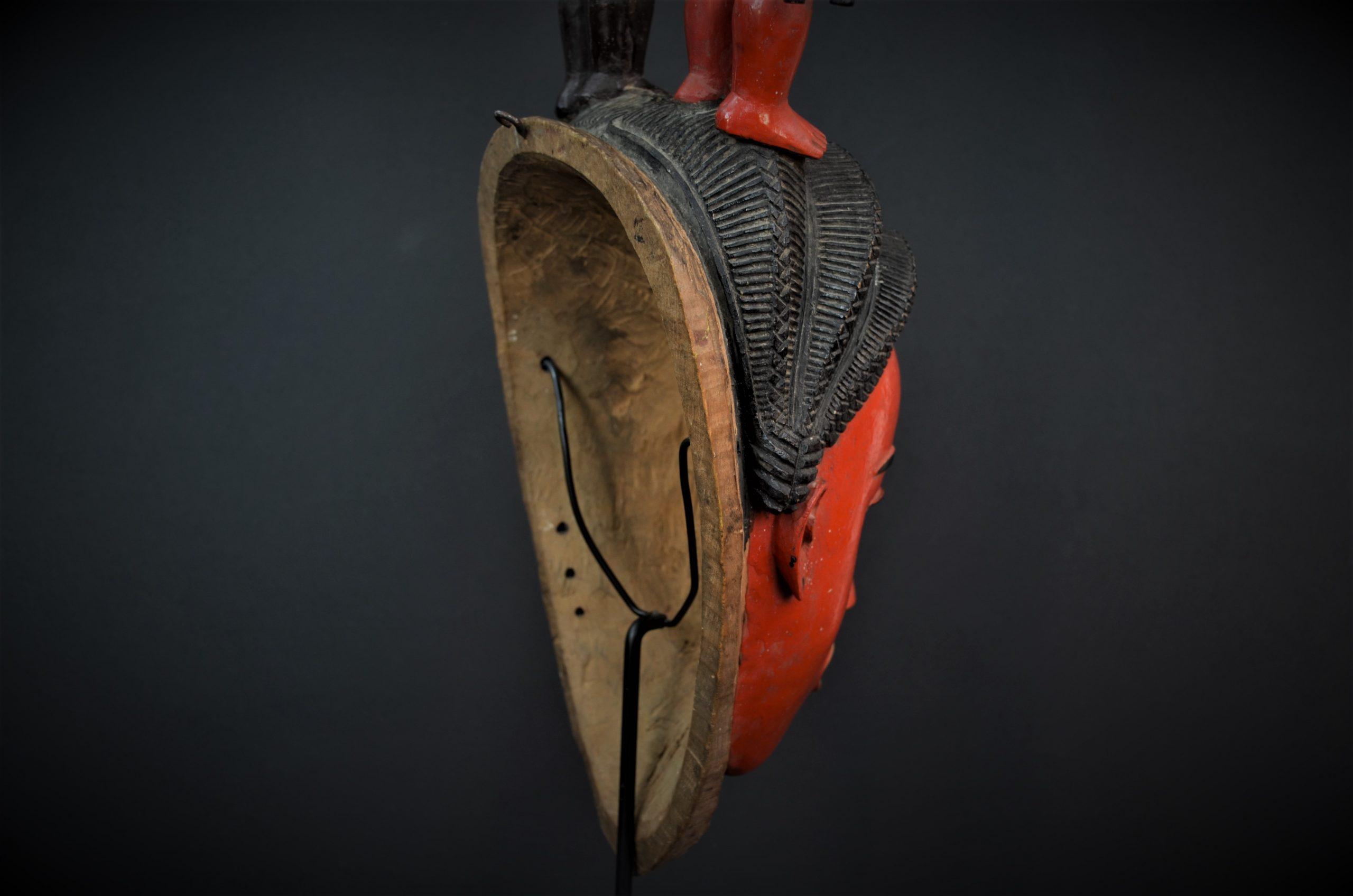 Gouro, Maître des Niono, Masque Gou Ripolin Rouge, Côte d'Ivoire 21