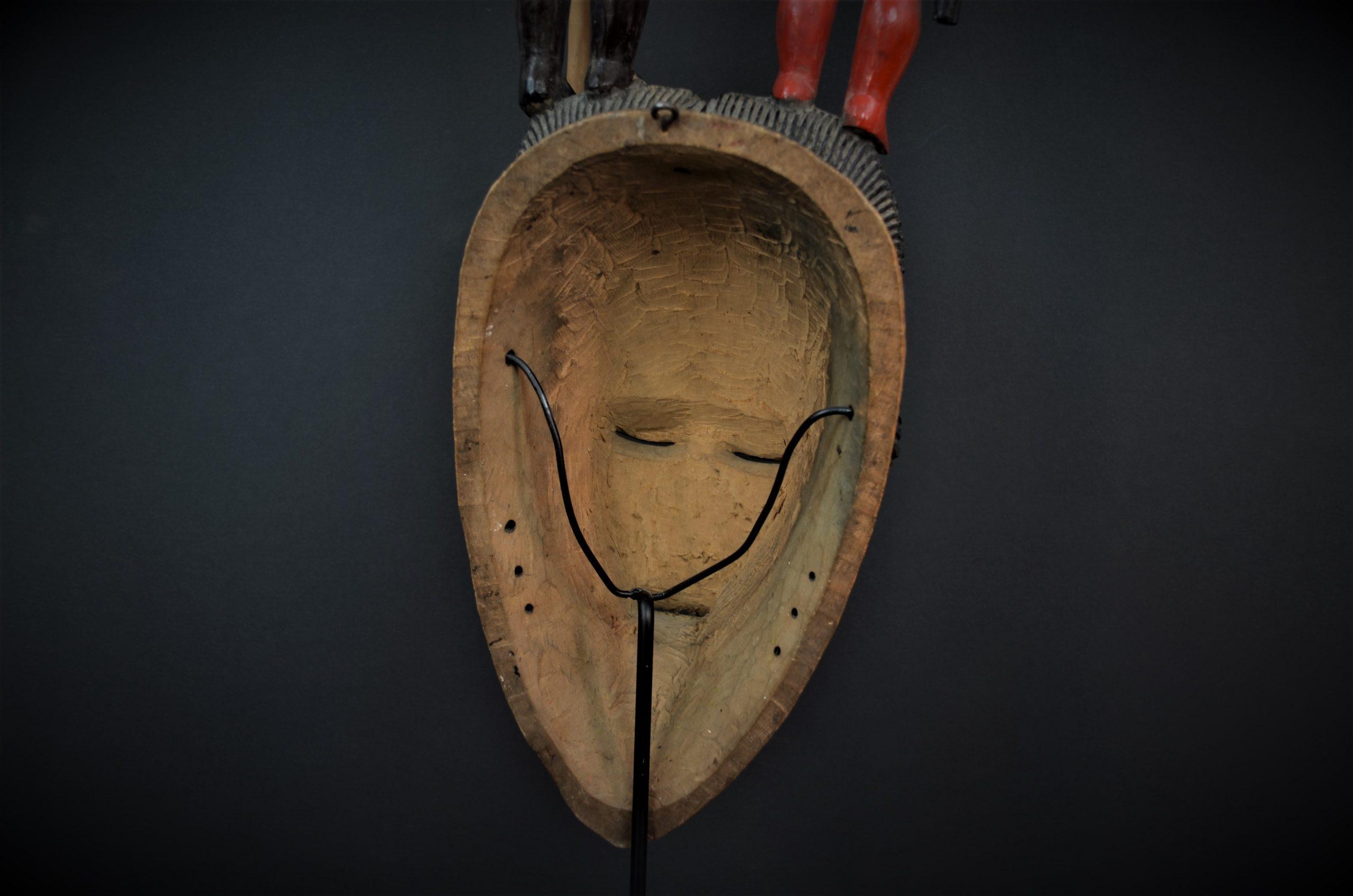 Gouro, Maître des Niono, Masque Gou Ripolin Rouge, Côte d'Ivoire 22