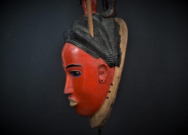 Gouro, Masque Zaouli, Côte d'Ivoire