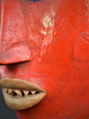 Gouro, Maître des Niono, Masque Gou Ripolin Rouge, Côte d'Ivoire 28