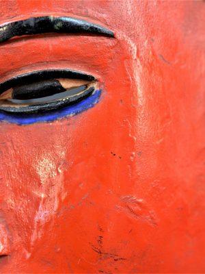 Gouro, Maître des Niono, Masque Gou Ripolin Rouge, Côte d'Ivoire 29
