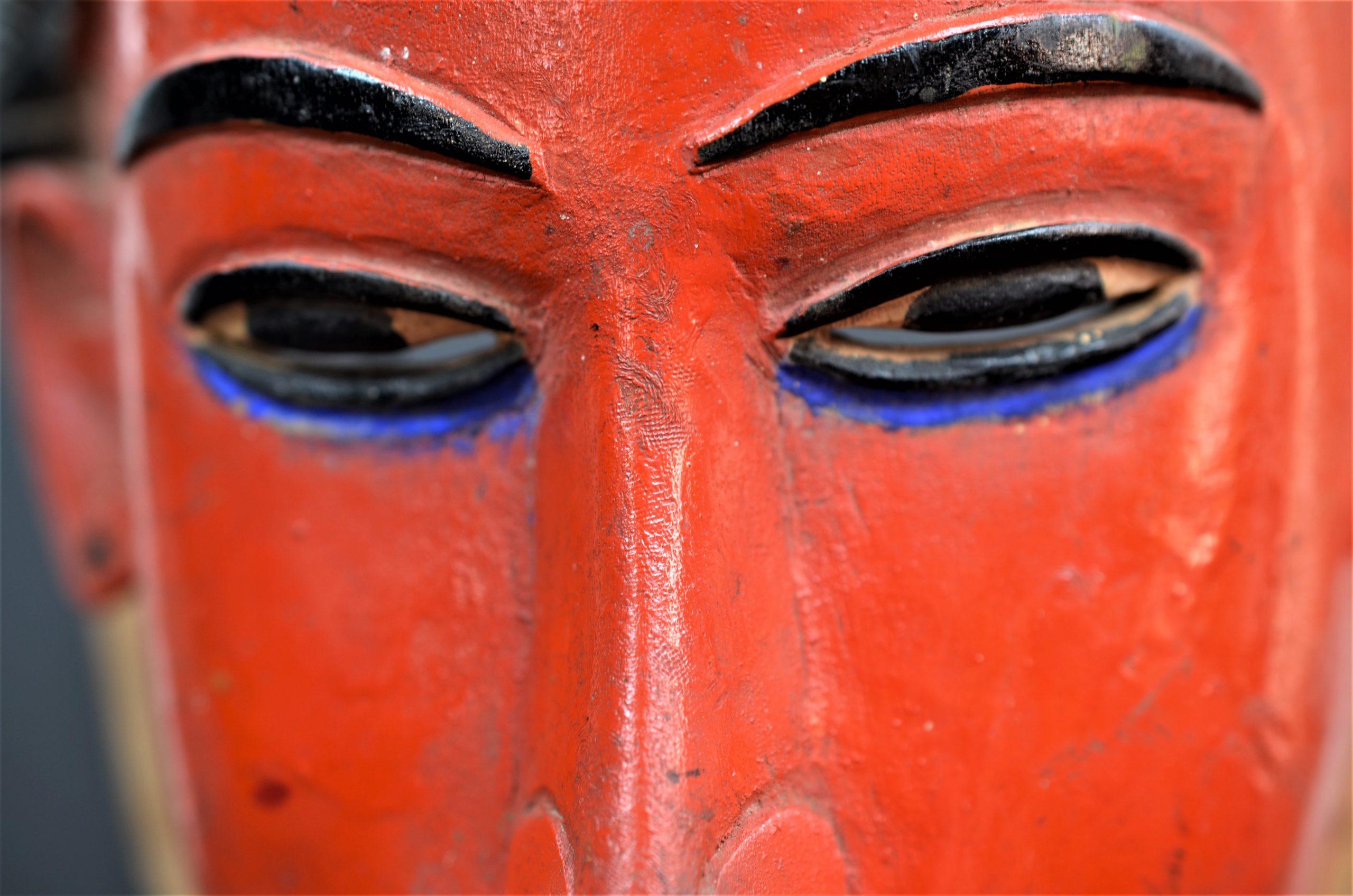 Gouro, Maître des Niono, Masque Gou Ripolin Rouge, Côte d'Ivoire 30