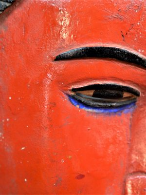 Gouro, Maître des Niono, Masque Gou Ripolin Rouge, Côte d'Ivoire 33