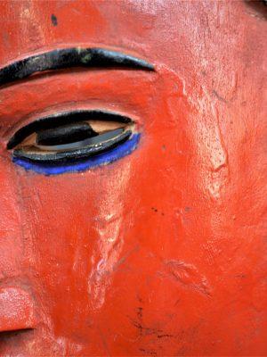 Gouro, Maître des Niono, Masque Gou Ripolin Rouge, Côte d'Ivoire 34