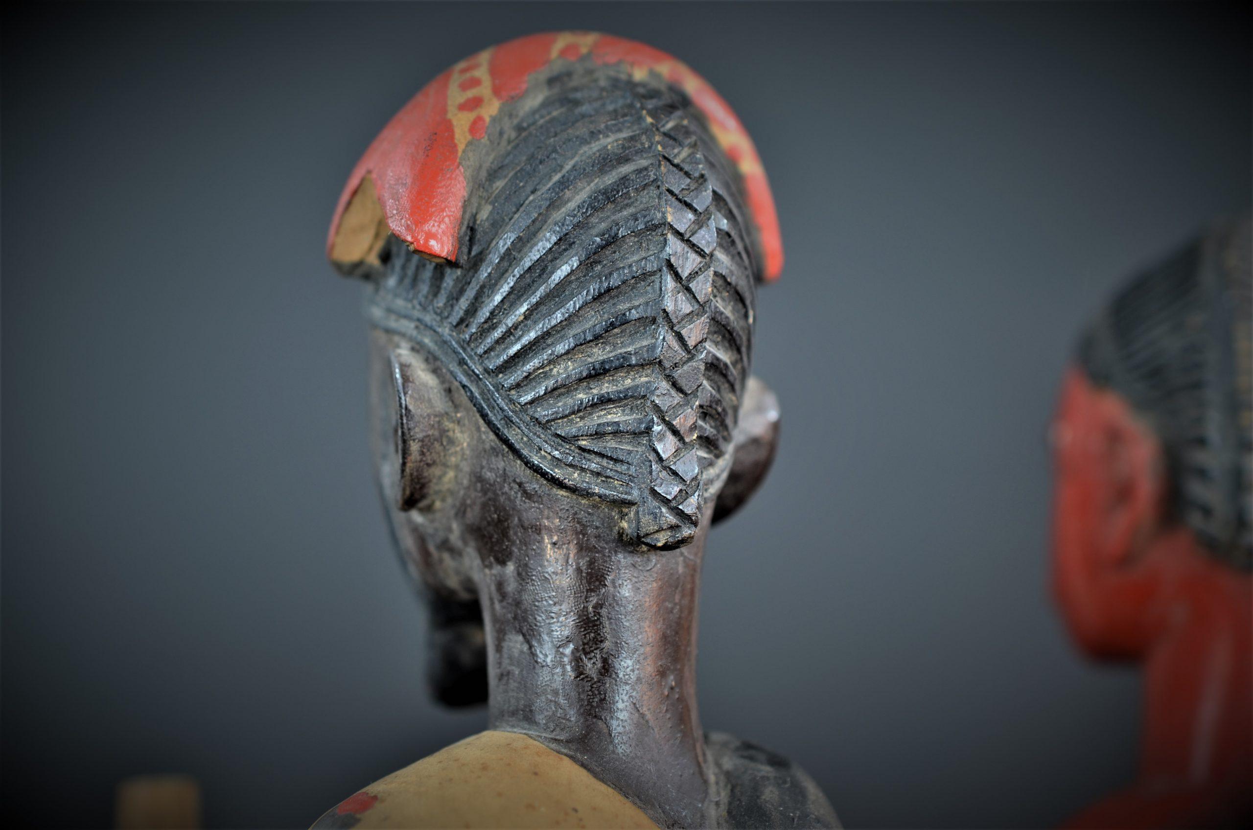 Gouro, Maître des Niono, Masque Gou Ripolin Rouge, Côte d'Ivoire 37