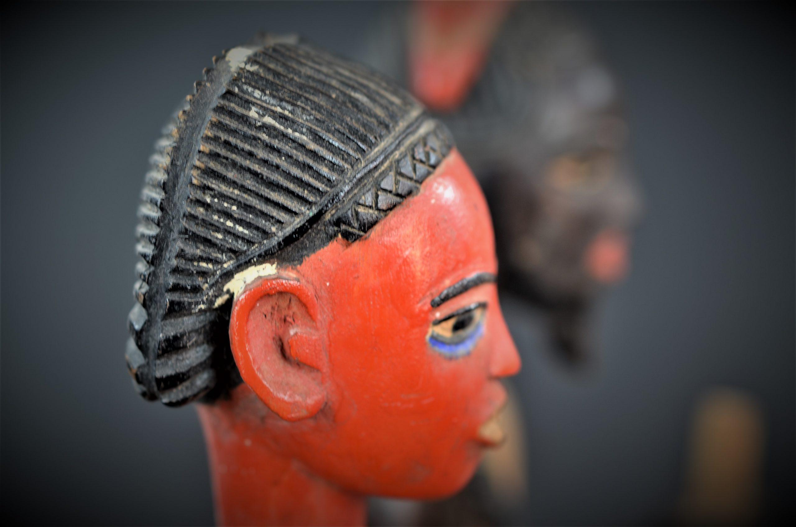Gouro, Maître des Niono, Masque Gou Ripolin Rouge, Côte d'Ivoire 39