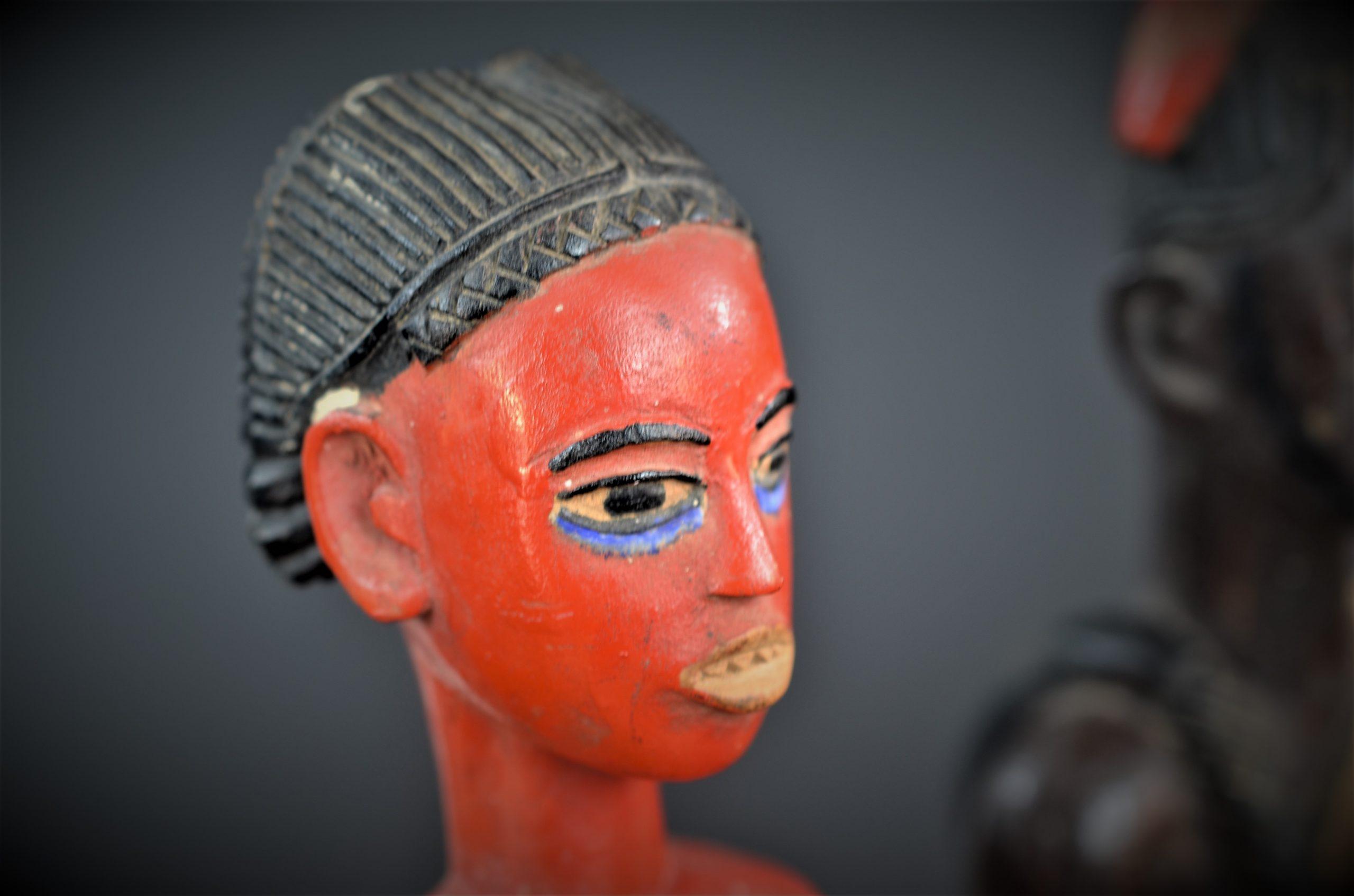 Gouro, Maître des Niono, Masque Gou Ripolin Rouge, Côte d'Ivoire 40