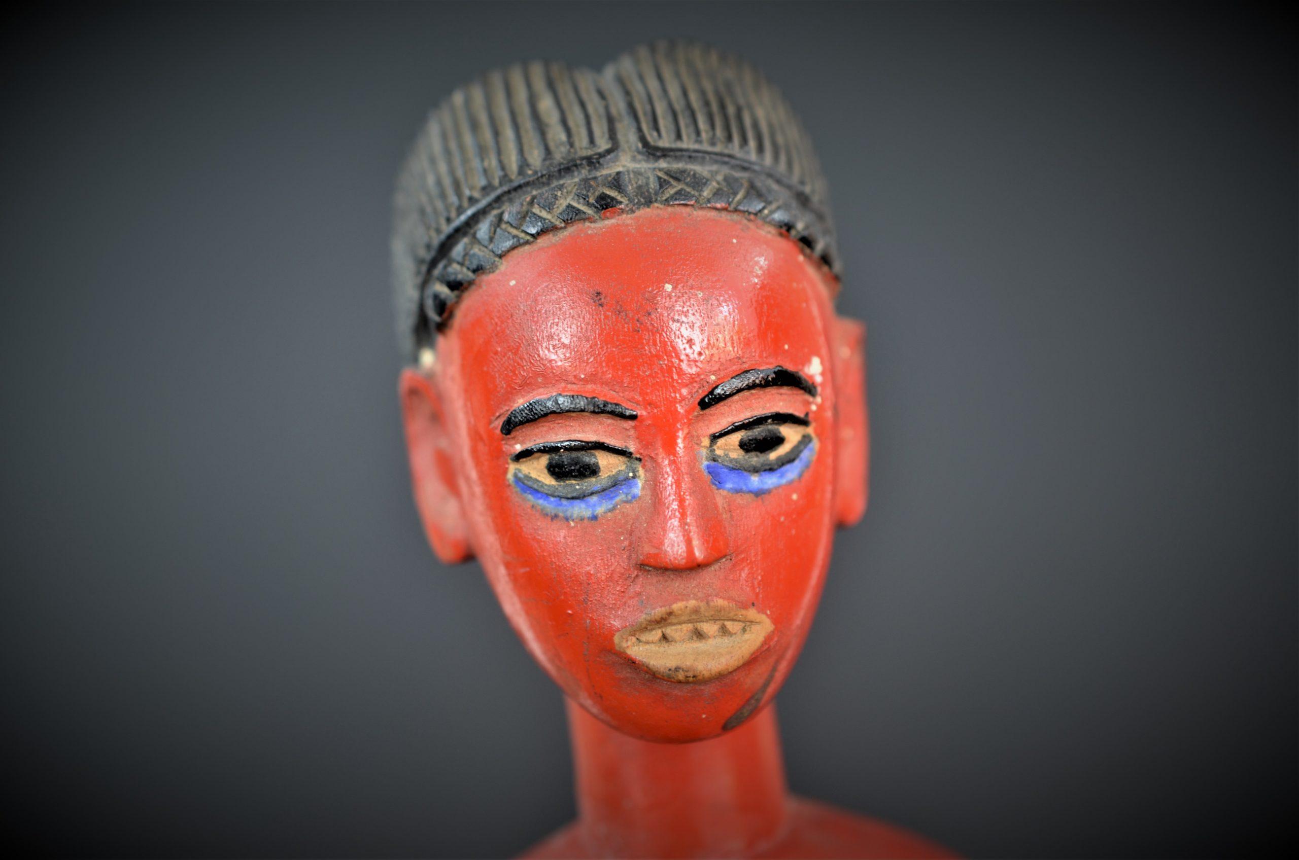 Gouro, Maître des Niono, Masque Gou Ripolin Rouge, Côte d'Ivoire 41