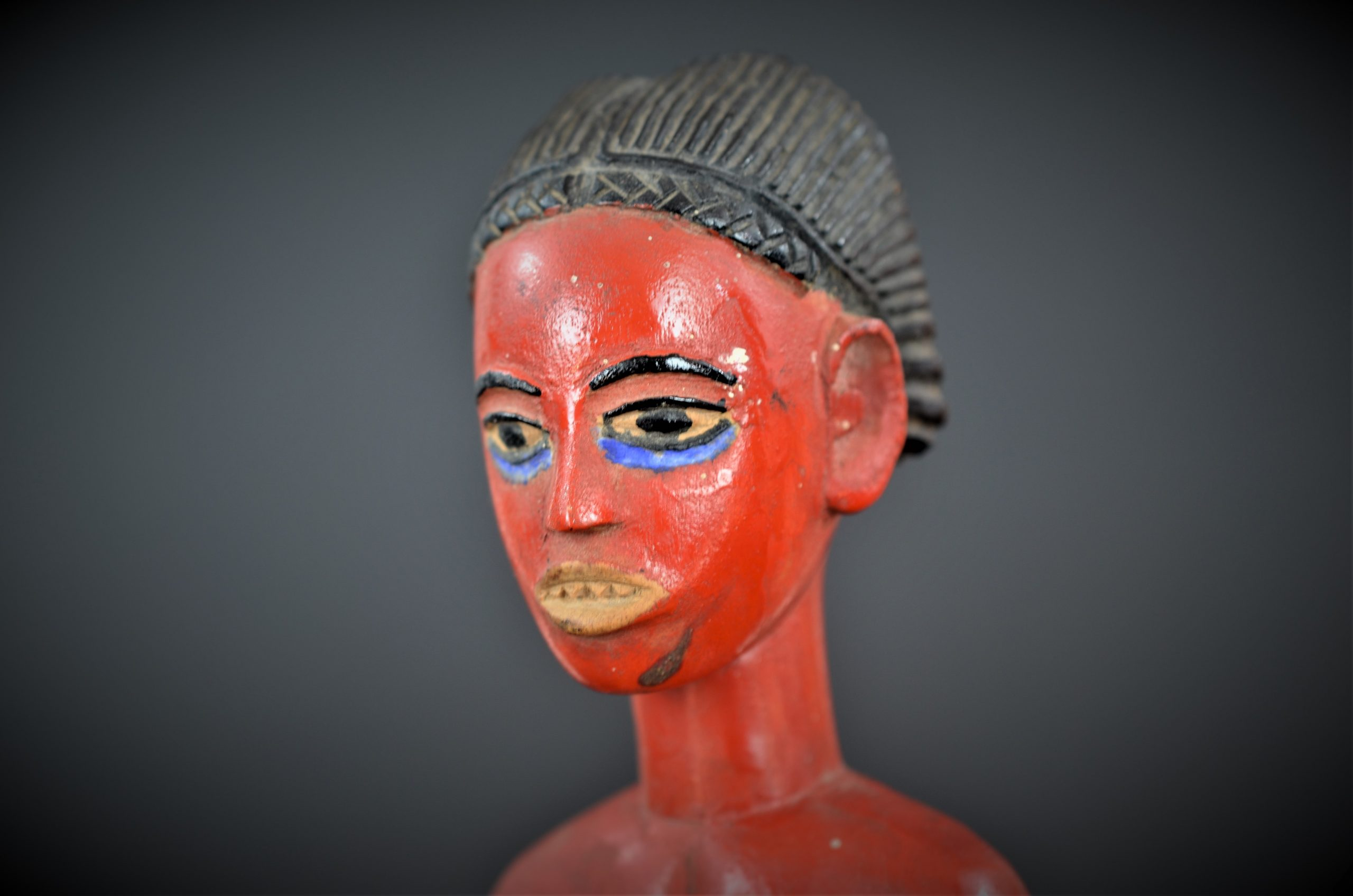 Gouro, Maître des Niono, Masque Gou Ripolin Rouge, Côte d'Ivoire 42