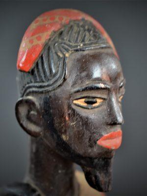 Gouro, Maître des Niono, Masque Gou Ripolin Rouge, Côte d'Ivoire 43