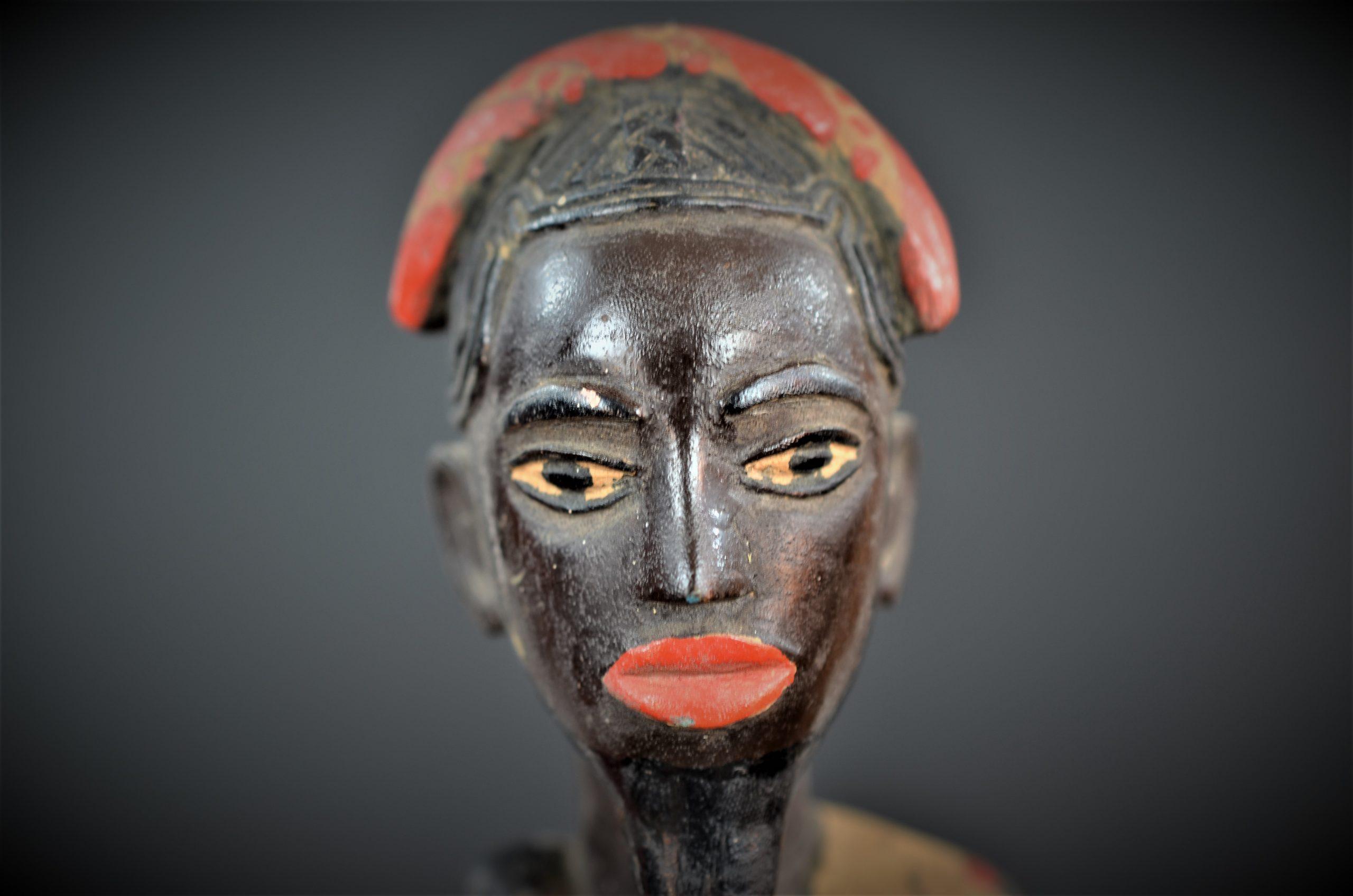 Gouro, Maître des Niono, Masque Gou Ripolin Rouge, Côte d'Ivoire 45