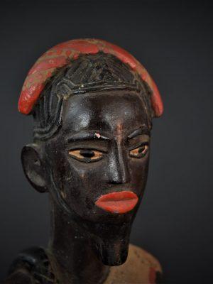 Gouro, Maître des Niono, Masque Gou Ripolin Rouge, Côte d'Ivoire 7