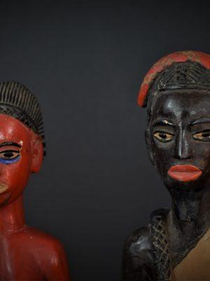 Gouro, Maître des Niono, Masque Gou Ripolin Rouge, Côte d'Ivoire 8