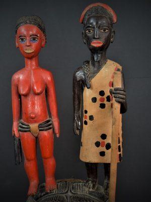 Gouro, Maître des Niono, Masque Gou Ripolin Rouge, Côte d'Ivoire 9