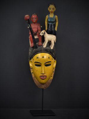 Gouro masque jaune 1