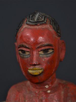 Gouro masque jaune 10
